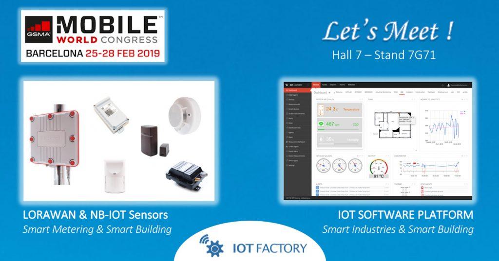 IOT-Factory-MWC-2019-LORAWAN-NB-IOT-IOT-PLATFORM