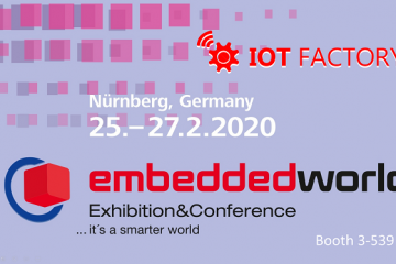 IOT-Factory-embedded-world-2020-nurenberg-germany-